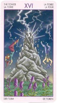 Старший аркан таро Башня (таро ведьм)