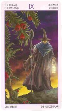 Старший аркан отшельник (таро ведьм)