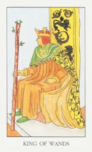 Колода Райдера Уэйта  - Страница 2 KingOfWands-181x300