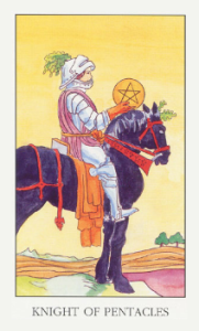 KnightOfPentacles