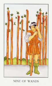 Колода Райдера Уэйта  - Страница 2 NineOfWands-181x300