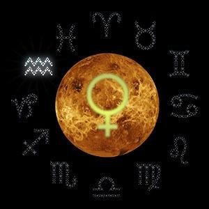 Венера в Водолее