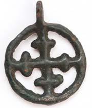 Символ на кулоне